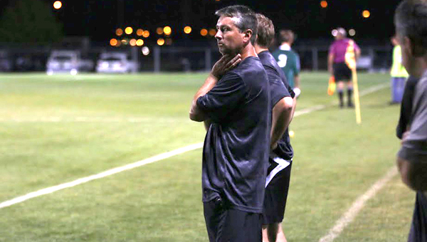 Westminster School at Oak Mountain head soccer coach Patrick Fitzgerald led the Knights back to the 1A-3A Final Four this year, and is the Shelby County boys soccer Coach of the Year for the 2016 season. (Contributed)