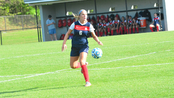 Gracie Miller and the Oak Mountain Lady Eagles fell to Vestavia Hills 3-2 on May 7. (File)