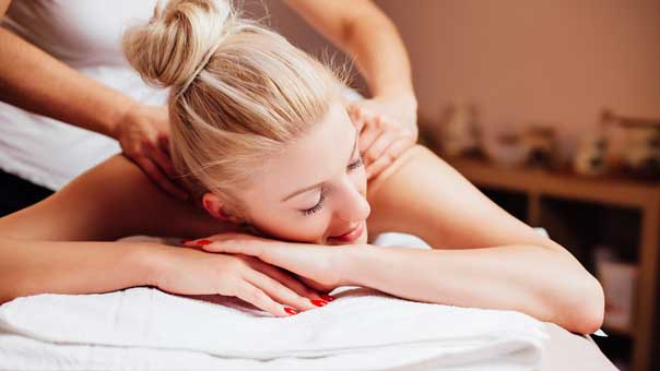 Massage therapy can help loosen muscles, relieve stress and also help heal injuries.