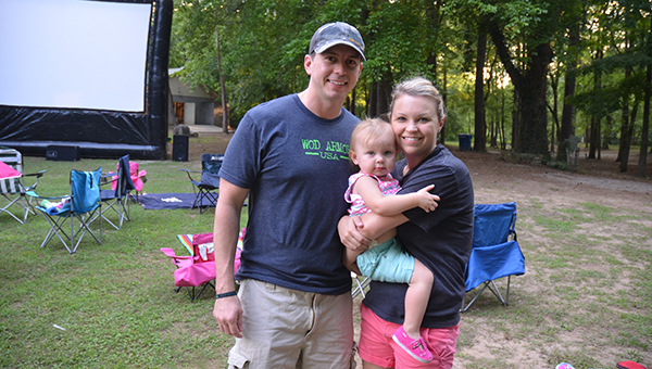 A family enjoys the Movies in the Park program at the Helena Amphitheater last year. The program returns on Friday, June 3. (File)