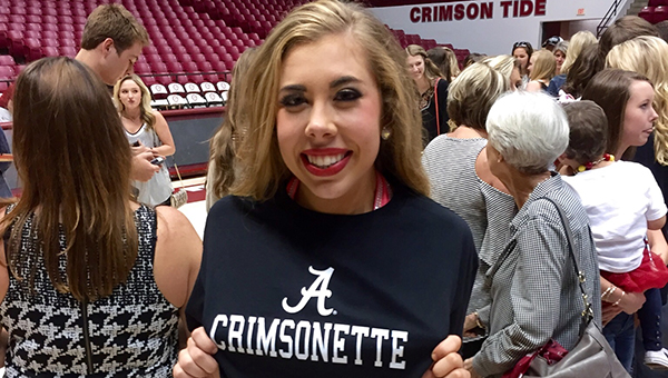 Helena senior Abbey Manasco was selected to join the University of Alabama Crimsonettes team in the fall. (Contributed)