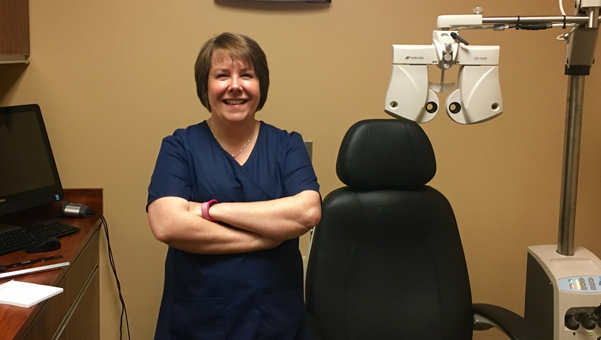 Dr. Barbara Wright recently moved her practice to Eyemart Express on U.S. 280. (Reporter Photo/Molly Davidson)