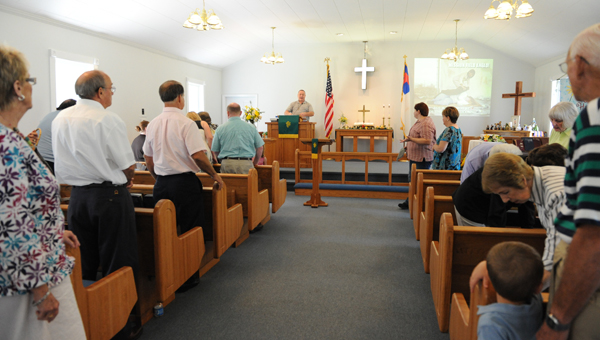 Mt. Tabor United Methodist Church will celebrate 159 years at homecoming June 5. (Contributed)