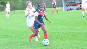 Oak Mountain's Hailey Whitaker scored 23 goals and added four assists for the Lady Eagles in her sophomore year, helping lead Oak Mountain to a 22-4-1 record. (File)