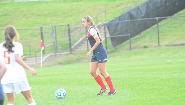 Nealy Martin has led Oak Mountain's defense for the past two years, during which time the Lady Eagles have given up just 23 goals in 55 games. (File)