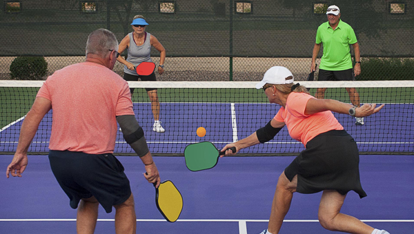 Pickleball is one of the country's fastest-growing sports, and has found a home at the Chelsea Community Center. (Contributed)