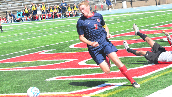 Reigning Shelby County boys soccer Player of the Year Hunter Holstad was named to the All-USA Today Second Team on June 22. (File)