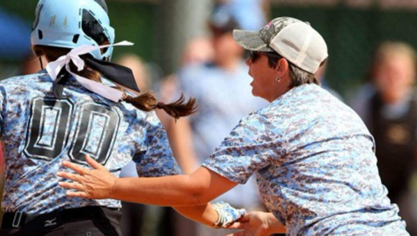 Helena head softball coach Heidi Kouveras led the Lady Huskies to the 5A state title game in the second year of the program's existence, and is the Coach of the Year in the county. (Contributed)