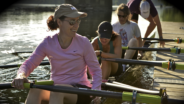 Lara Embry and Ted Swinford will be the two coaches of Birmingham Area Youth Rowing, which is starting with summer camps June 20 on Lake Purdy. (Contributed)