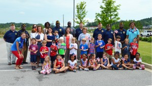 The students at Covenant Classic School and Daycare witnessed the true military ceremony for flag retirement on National Flag Day.