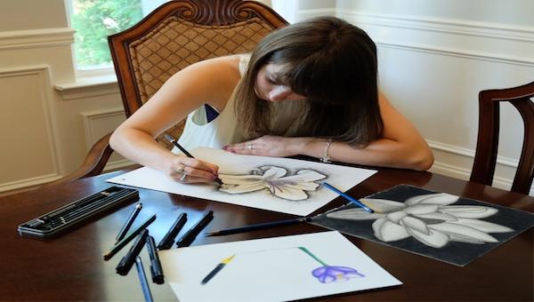 Jordan Ingram, Helena High School Class of 2016 Valedictorian, enjoys bringing out her creative side through different types of artwork.