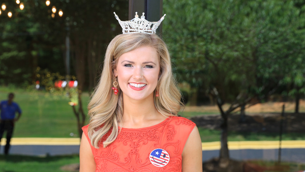 The 2016 Miss Shelby County Hayley Barber was crowned Miss Alabama on June 11. The Pelham resident will participate in the Miss America competition in three months. (For the Reporter/Dawn Harrison)