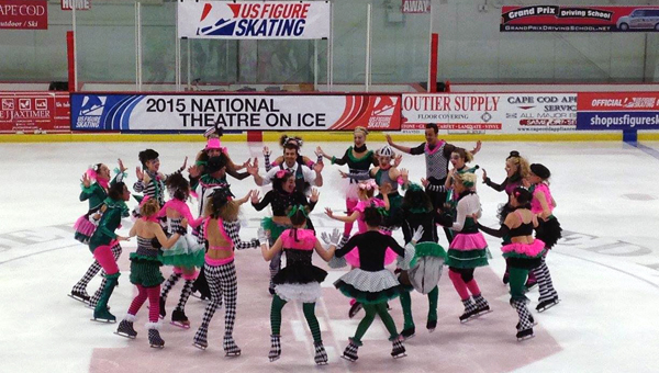 The National Theatre on Ice Competition will be held in Pelham this year, allowing groups of eight to 30 skaters to take the ice as a team. (Contributed)