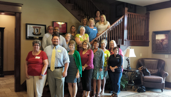 The Shelby County Clerks Association convened at Timberline Golf Course in Calera on June 9 for a quarterly meeting and election training. (Contributed)