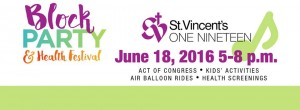 St. Vincent's One Nineteen is hosting its block party Saturday, June 18 5-8 p.m. (Contributed)
