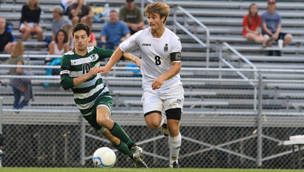 Josh Brower, who recently graduated from Briarwood Christian School, was named an All-American by the NSCAA for his play in 2016. (File)