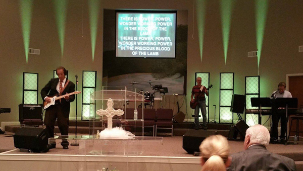 As a way to renew excitement within its congregation, the Pelham Church of God hosted a four-day revival, featuring music and ministry from Brother Stanley Owensby. (Contributed)
