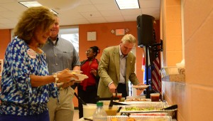 """The Chelsea Business Alliance hosted a """"meet the candidate"""" on Wednesday, July 27. (Reporter photo)"""