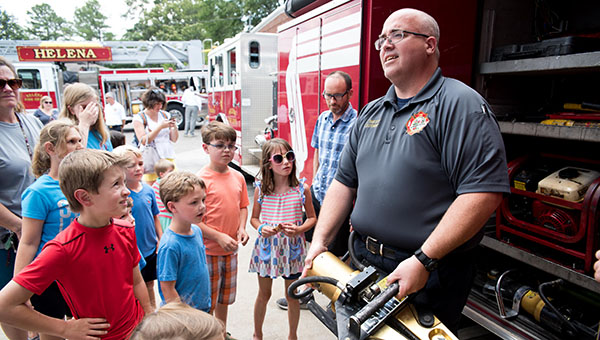 The Helena police and fire departments will host National Night Out on Aug. 2 from 6-9 p.m. Residents can come out and meet their local police and fire department officials and more. (File)