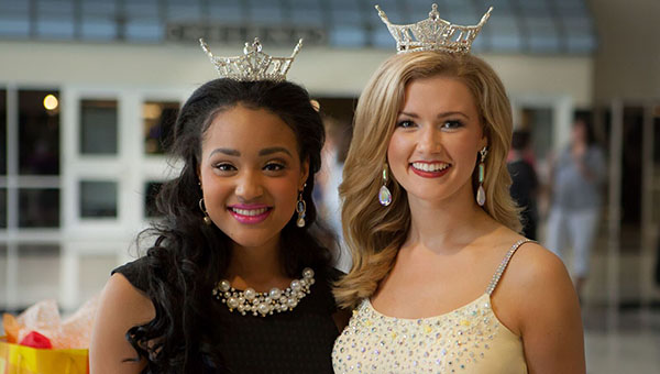 Helena High School senior Tiara Pennington, left, recently spent 10 days in Orlando, Fla. to represent the state of Alabama as well as Shelby County in the Miss America's Outstanding Teen pageant where she finished in the top 11. (File)
