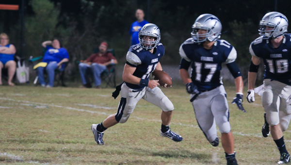 Micah Murphy ran for 133 yards and scored four times on the ground during the Lightning's 36-12 win over Patrician Academy. (File)