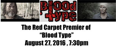 """The premiere of """"Blood Type,"""" an original series by local filmmaker Kevin Wayne, will b held at the SCAC Black Box Theater on Aug. 27. (Contributed)"""