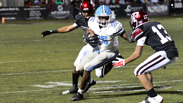 Larry Wooden and the Spain Park Jaguars have moved up the 7A ranks this week, and come in at the No. 2 spot in this week's ASWA poll. (File)