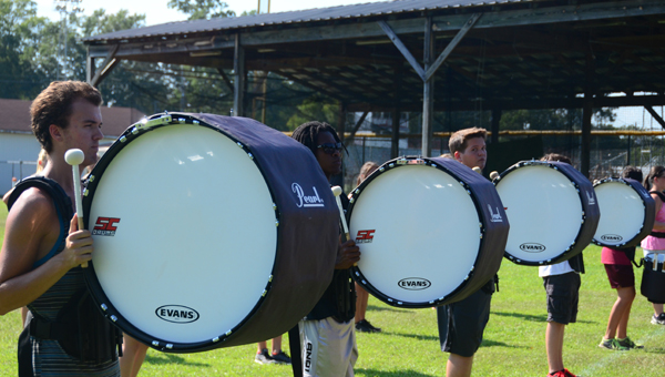 Shelby County High School will host this years Showcase of Bands on Sept. 13, starting at 6:30 p.m.  The annual event brings together all bands from across Shelby County. (Reporter photo/Alec Etheredge)