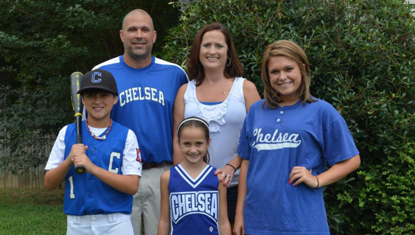 David Ingram, pictured with his family, is a long-time resident of Chelsea and has served on the City Council for the past four years. If re-elected, he will be the only returning member to the Council. (Contributed photo)