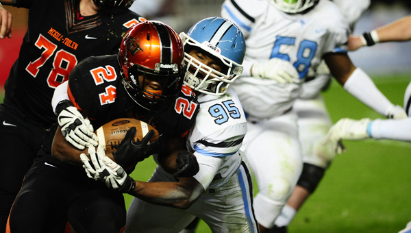 The Spain Park Jaguars are ranked as the preseason No. 5 team in 7A. (File)