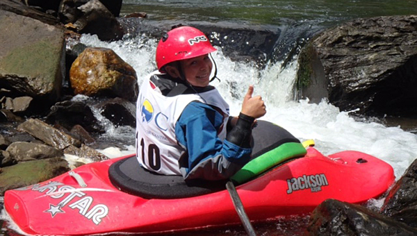 Daniel Jones recently earned a second-place finish in the 14U division of the Whitewater Junior Olympics, which were held on July 31. (Contributed)
