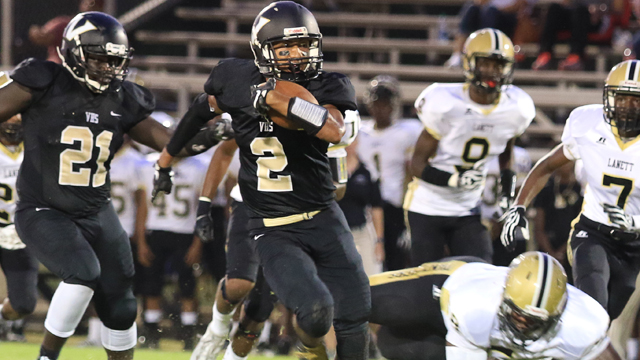 The Vincent Yellow Jackets fell to Lanett 58-13 on Sept. 9. (For the Reporter / Dawn Harrison)