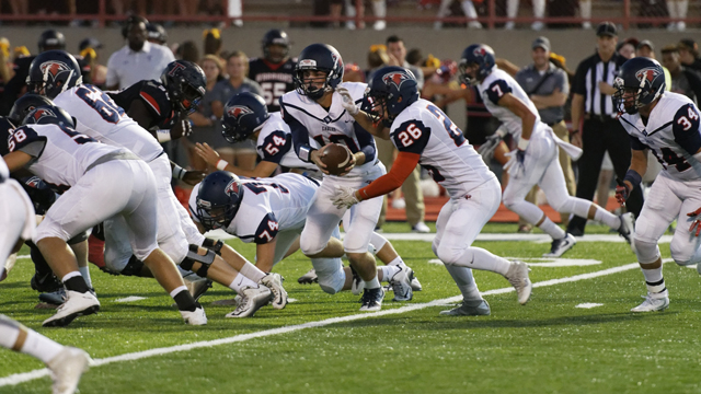 Jackson Kimbrell and Daniel Salchert helped lead Oak Mountain to a come-from-behind thrilling victory over Thompson on Sept. 16. (Contributed / Barry Clemmons)
