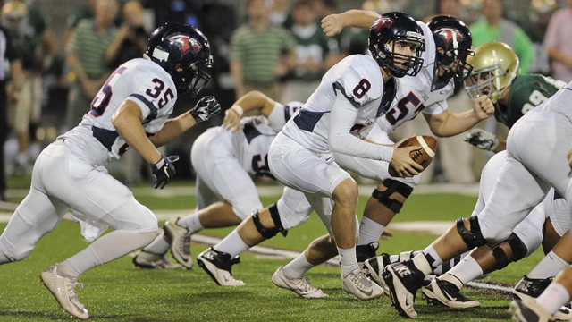 With a big region game coming this week against Hoover, can Oak Mountain keep its' hot streak going? (File)