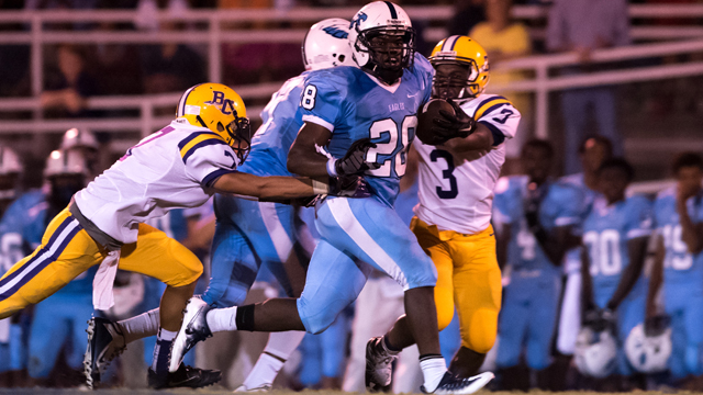 Calera lost its first game of the season to Demopolis on Sept. 16 by a final of . (File)