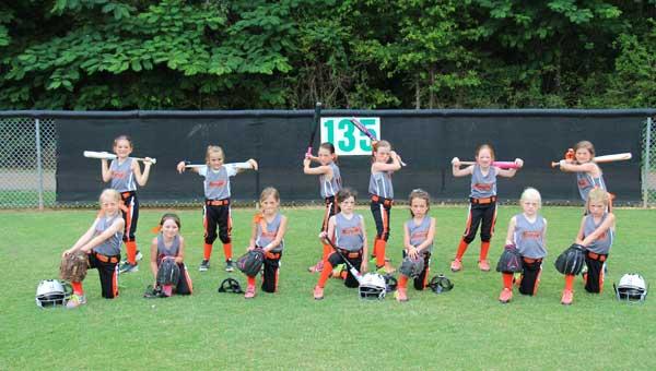 The Hoover Diamonds All Stars 6U fast-pitch girls softball team won the USSSA State Tournament.