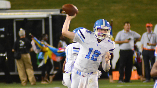 Spain Park, one of the seven county teams sitting at 1-1 in region play entering tonight's game, has a big game ahead tonight. (File)