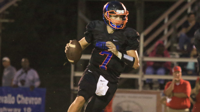 Zac Oden and the Montevallo Bulldogs beat BB Comer 45-22 on Sept. 9. (File)