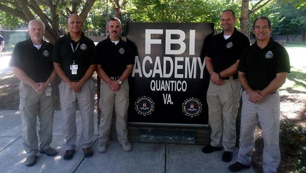 Pictured are the members of the Alabama Delegation who attended the 265th session of the FBI National Academy. (Contributed)