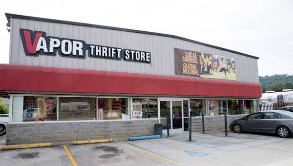"Vapor Thrift Store, with a motto of ""Local savings, global mission,"" generates revenue for Vapor, which establishes sustainable centers for alleviating poverty and multiplying disciples in third-world environments."