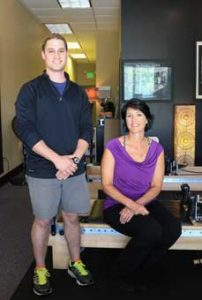 Frankie Romano and Ainslie McLean share their passion for safe fitness and health at Reformu Reformer Training Studio.