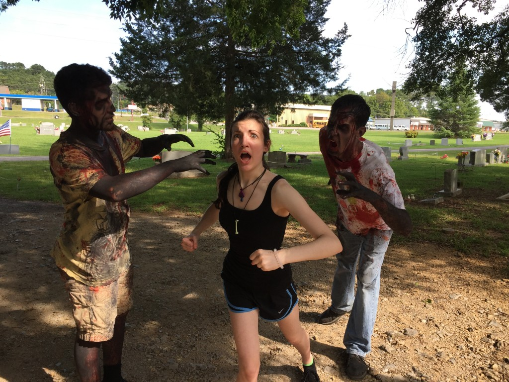 Zombie Run 5K participants will try to outrun zombies so they won't become infected during Warehouse 31's second annual event on Sept. 17. (Contributed)