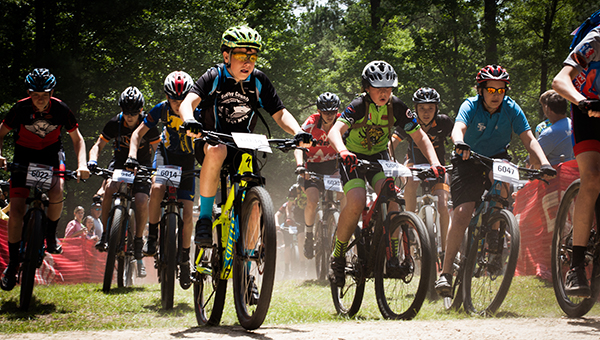 Students in grades 6-12 who live in Helena, Chelsea, Thompson or other area where a school team is not available, can register for the Shelby County Mountain Bike team beginning in October. (Contributed)