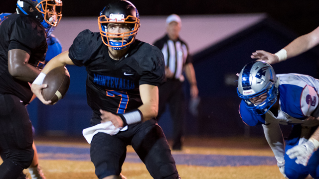 Zac Oden led Montevallo to a tight, 14-7 win over ACA on Friday to stay undefeated. Will the Bulldogs keep rolling this week? (File)