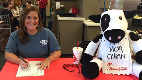 The Chelsea Park Elementary PTO is hosting its first Spirit Night of the 2016-2017 school year at the Greystone Chick-fil-A. The event is raising money for an outdoor classroom to be added at CPES. (Contributed)