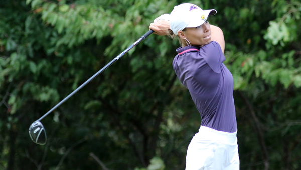 Montevallo's Arin Eddy helped lead the Lady Falcons to a fourth-place finish at the Beall Fall Classic at the University of Findlay. (File)