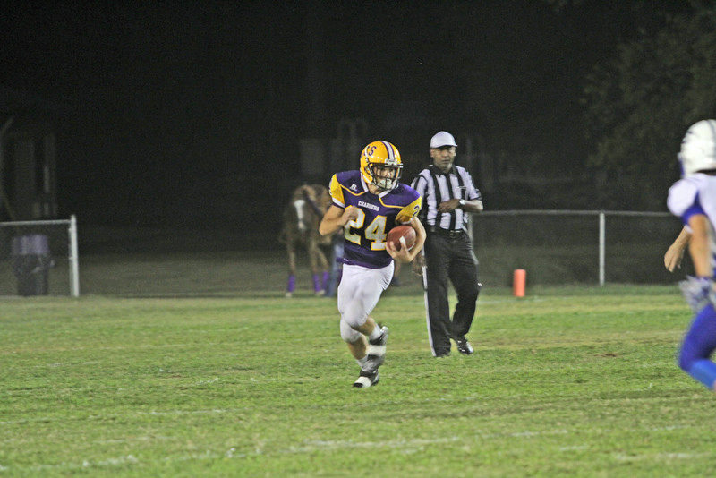 Jake Blankenship and the Cornerstone Christian Chargers claimed their first region title in 19 years on Oct. 13 with a 22-19 win over Macon-East Academy. (File)