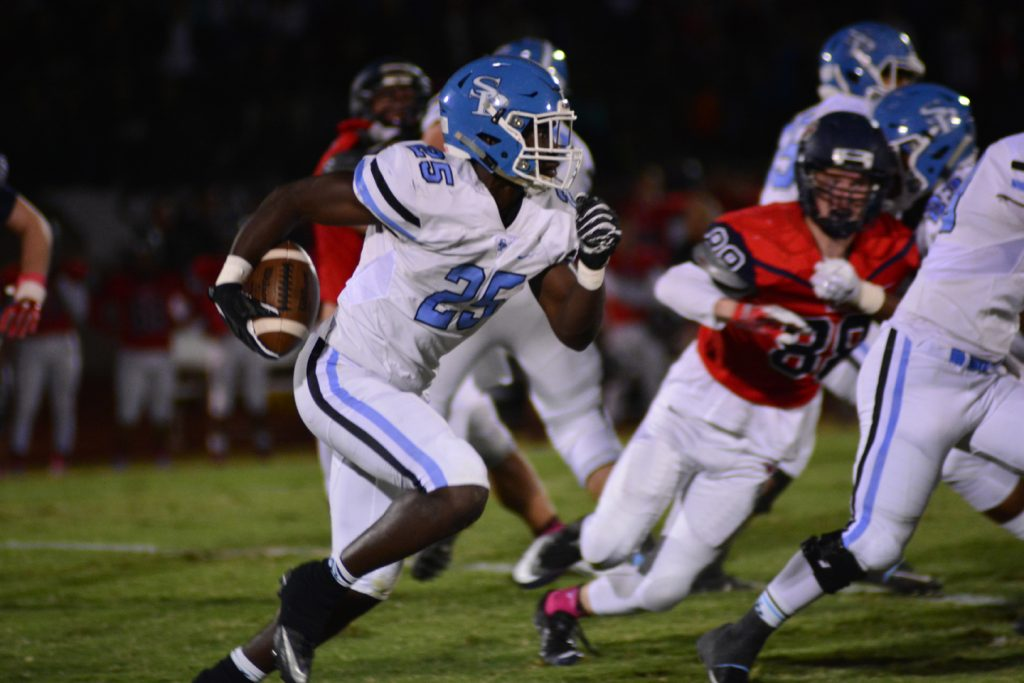 Spain Park is one of two county teams facing off against undefeated opponents this week. How will the Jags fare in the final tune-up before the playoffs? (File)