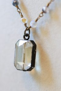 In the Chinese markets, Mashburn found many natural stones, like quartz, to incorporate in her jewelry. (Photo by Dawn Harrison)