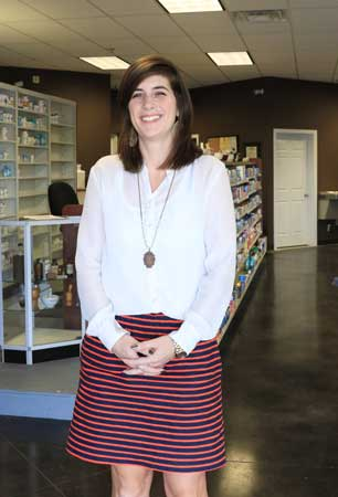 Whitney Culpepper opened Hoover Hometown Pharmacy off John Hawkins Parkway several months ago.